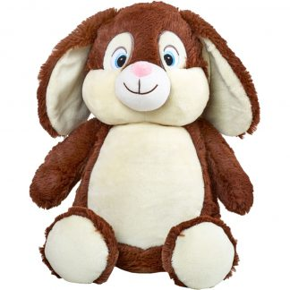 cubbie-chocolate-bunny-personalised-teddy