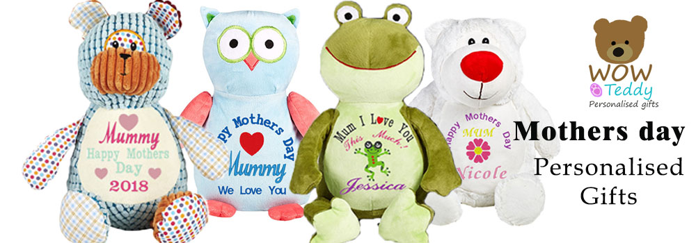 Personalised Teddies for Mothers Day