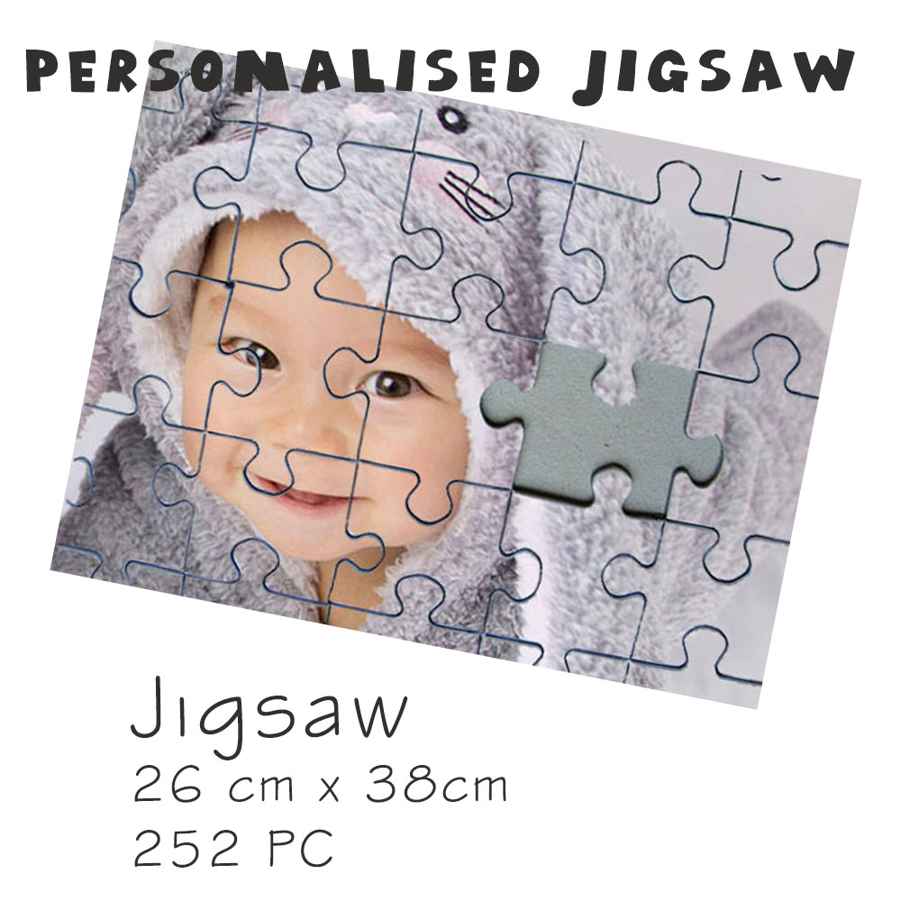 Personalised Jigsaw Puzzles Gifts 26cm x 38cm | Wow Teddy