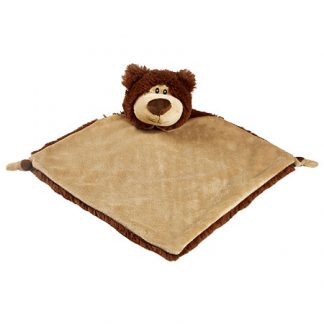 New Baby birth Gift Cubbies  BEAR Personalised Baby Comforter snuggle Blanket