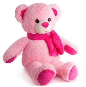 60 cm Pink teddy bear